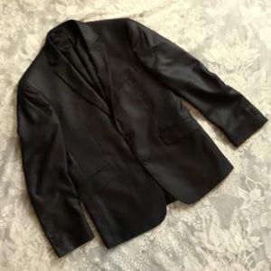 Kenneth Cole Reaction Gray Dress Blazer